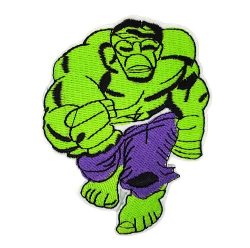 The Hulk Iron / Sew On Embroidered Patch